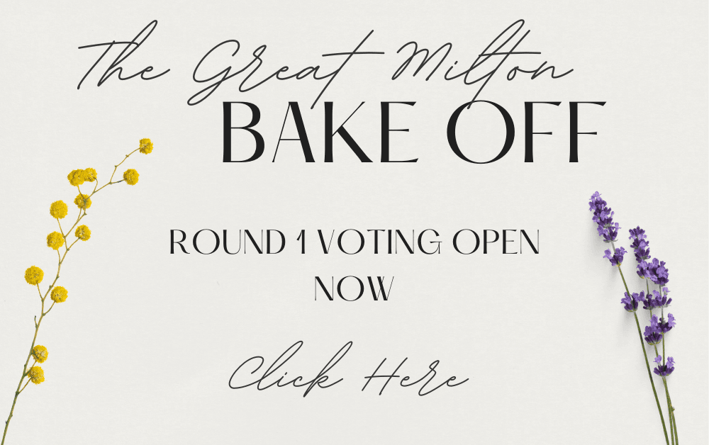 Great Milton Bake Off Round 1 Button